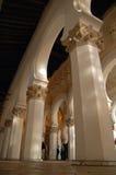 Sinagoga branca fotografia de stock royalty free