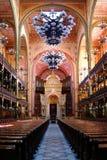 Sinagoga Budapest Fotos de archivo libres de regalías