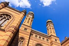Sinagoga a Budapest Fotografia Stock