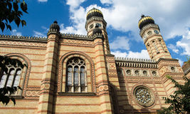 Sinagoga da rua de Dohany, Budapest Fotografia de Stock Royalty Free