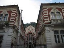 Sinagoga de Brasov, Brasov Rumania foto de archivo
