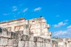 Sinagoga de Capernaum Foto de Stock Royalty Free