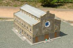 A sinagoga de Eghia-Kapai fotos de stock royalty free