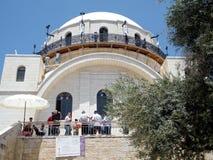 Sinagoga 2010 de Jerusalén Hurva Fotos de archivo