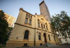 Sinagoga de Nozyk (yk do ¼ de NoÅ) Imagem de Stock Royalty Free