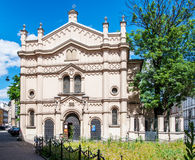 Sinagoga del templo en Kraków, Polonia Fotos de archivo libres de regalías