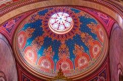 Sinagoga della via di Dohany Immagini Stock Libere da Diritti