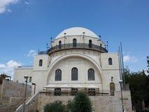 Sinagoga di HaHurwa Fotografia Stock