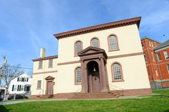 Sinagoga di Newport Touro, Rhode Island, U.S.A. Fotografia Stock