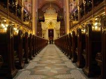 Sinagoga di Praga Fotografia Stock