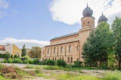 A sinagoga do status quo em Trnava fotografia de stock