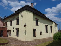 Sinagoga ebrea, ChÄ™ciny, Polonia Fotografia Stock Libera da Diritti