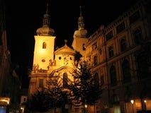 Sinagoga ebrea di Praga Immagine Stock Libera da Diritti