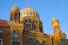 Sinagoga em Berlim Foto de Stock Royalty Free