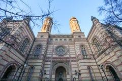 Sinagoga em Budapest Foto de Stock