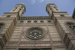 Sinagoga en Budapest, Hungría Foto de archivo