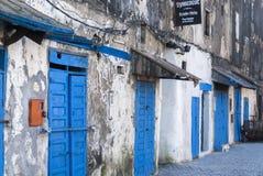 Sinagoga en Essaouria Foto de archivo libre de regalías
