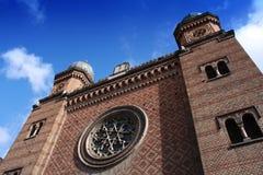 Sinagoga en Timisoara, Rumania Fotografía de archivo libre de regalías