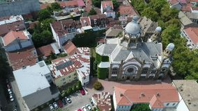 Sinagoga himmel stock video