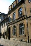 Sinagoga judaica em Krakow, Poland. imagem de stock
