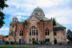 Sinagoga, Lucenec, Slovacchia fotografie stock libere da diritti