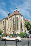 Sinagoga nel quarto ebreo - Praga Immagini Stock Libere da Diritti