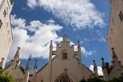 Sinagoga a Praga Fotografia Stock