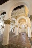 Sinagoga Santa Maria la Blanca Imágenes de archivo libres de regalías