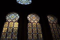 Sinagoga spagnola a Praga Fotografie Stock Libere da Diritti