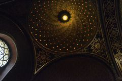 Sinagoga spagnola a Praga Fotografia Stock