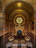 Sinagoga spagnola a Praga Immagine Stock Libera da Diritti