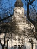Sinagoga velha, Kecskemet, Hungria Fotografia de Stock