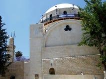 Sinagoga y alminar 2010 de Jerusalén Hurva Imagenes de archivo