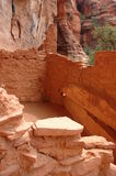 Sinagua Indian cliff Dwellings. Near Sedona Arizona Stock Photo