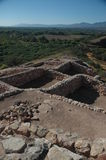 Sinagua indian ruins at Tuzigoot. Cottonwood Arizona Stock Photo