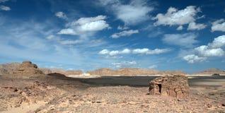 Sinai öken royaltyfria bilder