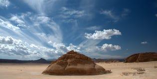 Sinai öken royaltyfri bild