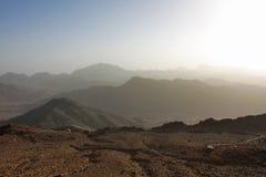 Sinai-Berge Lizenzfreie Stockfotos
