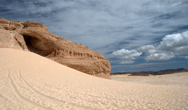 Sinai Desert. Picture was taken in Nabq National Park,Egypt Stock Photography