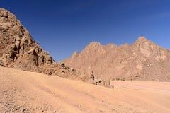 Sinai desert. Egypt. Ð'eauty of the Sinai desert royalty free stock images