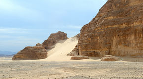 Sinai desert Stock Photography