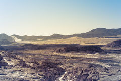 Sinai desert landscape Royalty Free Stock Photography