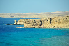 Sinai, Egypt. Red Sea coastline in Sinai, Egypt stock images