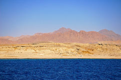 Sinai Kust Royalty-vrije Stock Afbeeldingen