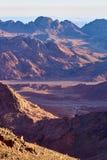 Sinai-Landschaft Stockbilder