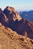 Sinai-Landschaft Stockfotografie