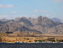Sinai mountains Stock Image