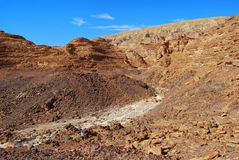 Sinai mountains. View on the desert Royalty Free Stock Image