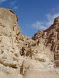 Sinai mountains. And desert in Egypt Stock Images