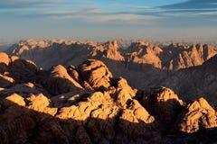 Sinai mountains Stock Photography